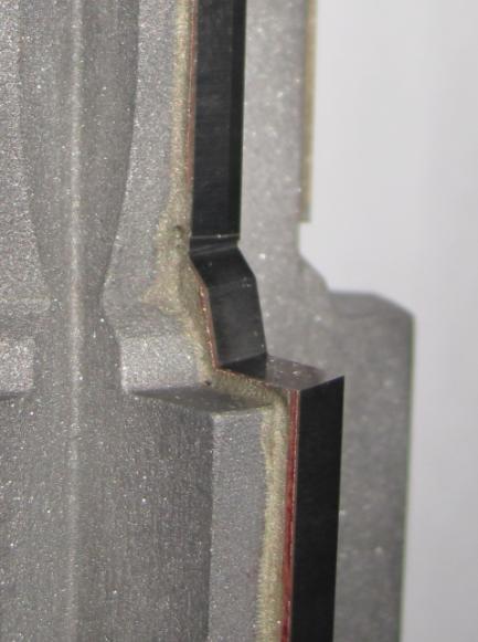 ロウ付段付3枚刃バニシングリーマ